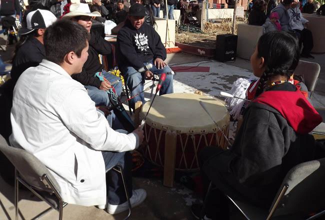 Powwow Drum Group Hawk Soldier