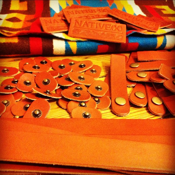 NATIVE(X) Accessories in the making...