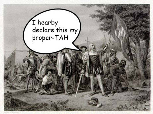humorous funny columbus day images columbus didnt discover america about that thing called columbus day native(x)